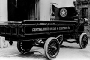 A Central Hudson vehicle from the early 1900s