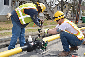 Central Hudson crews upgrading gas pipeline
