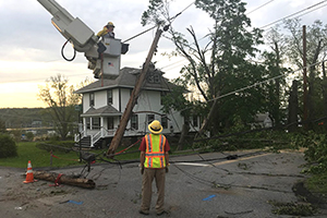 Central Hudson crews repair fallen wires