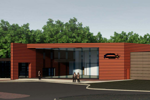 Rendering of Central Hudson's Training Academy