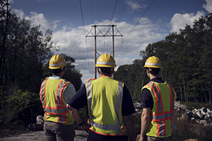 Central Hudson engineers assessing transmission lines